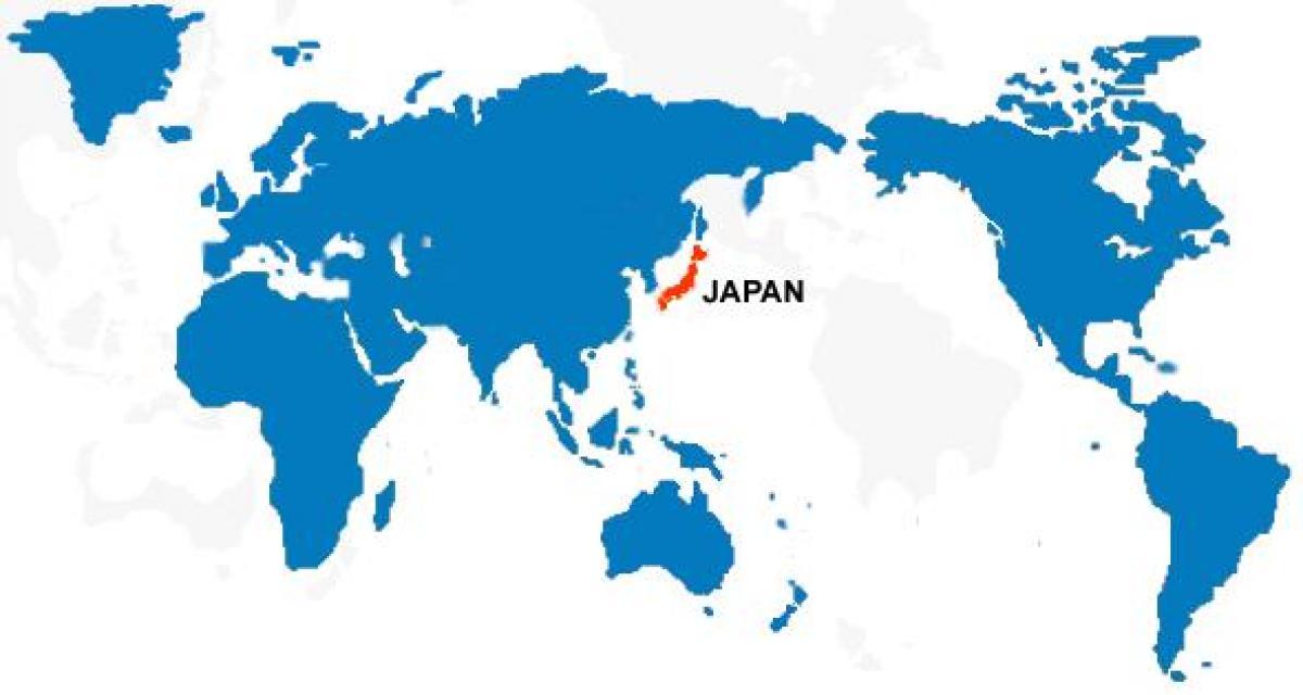 karta sveta japan Japonsko mape sveta   Japonsko mapa sveta (Východná Ázia Ázia) karta sveta japan